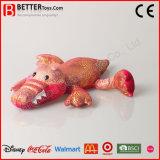 中国の安い柔らかいプラシ天の動物のおもちゃはワニのおもちゃを詰めた