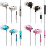 Blanc et noir écouteurs stéréo écouteurs à bas prix pour Sumsang S6