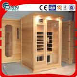 Pièce portative de sauna d'infrarouge lointain de vente chaude de Fenlin