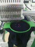 رأس وحيد حوسب تطريز آلة لأنّ غطاء & مسطّحة تطريز سعر جيّدة في الصين