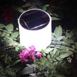 Portátil recargable impermeable inflable solar LED luz linterna solar