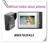 Téléphone visuel de porte de Bell de porte d'intercom pour la maison ou le bureau