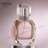Perfume de cristal Venta caliente botella con pulverizador de niebla fina