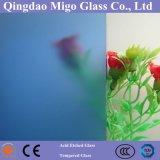 Ácido claro / colorido Vidro gravado / vidro fosco / vidro opaco / vidro translúcido