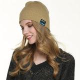 cappelli senza fili di musica di inverno dei trasduttori auricolari di modo, cappello lavabile del Beanie di Bluetooth