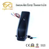 bateria elétrica da bicicleta Hailong da câmara de ar preta de 36V 14.5ah com carregador