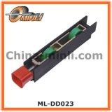 引き戸およびWindowsプラスチックブラケットプーリー(ML-DD024)のための調節可能なローラー