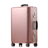 Maglluの荷物旅行一定袋ABS+PCのトロリースーツケースのローズの金
