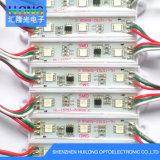 Luz de DC12V 0.72W LED, módulo RGB del LED que contellea