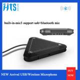 Supporto incorporato 20m Meterjt-S2b quadrato del microfono omnidirezionale dell'altoparlante di comunicazione del Mic 3