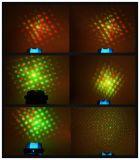 Discoteca parte DJ gobos de puntos múltiples de patrón de luz láser mini para Navidad
