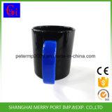 Impresa brillante plástico de colores taza de té para la promoción (SG-1100)