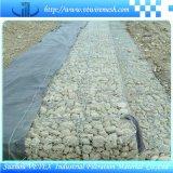 Rete metallica di Gabion usata per rinforzare struttura di terreno
