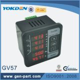 Gv57 fréquencemètre actuel de mètre de 3 phases