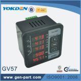 Gv57 contador de frecuencia actual del contador de 3 fases