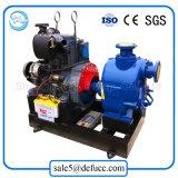 Individu de 8 pouces amorçant la pompe à eau d'égout diesel pour l'industrie chimique