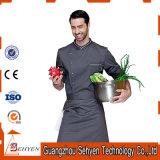 Fornire a 100% uniforme respirabile del lavoro del cuoco unico cotone/di Boly la casella