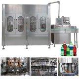 Suave completa máquina de llenado del vaso de bebida carbonatada