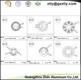 Disipadores de calor de aluminio/radiador/refrigerador/disipador de calor de la protuberancia del perfil de Guangdong Zhilv