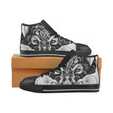 Droshippingの工場標準的なHicut 002足のズック靴の習慣のスニーカー