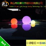 LED 라운드 볼을 뜨는 재충전용 방수 수영풀