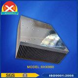 O dissipador de calor de extrusão de alumínio para o inversor de energia solar.