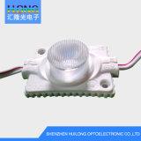 Iluminação frente e verso para o módulo do diodo emissor de luz das caixas de iluminação do anúncio