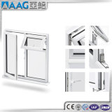 Thermischer Bruch-Aluminiumflügelfenster-Fenster (die glasierte Dreiergruppe aussondern/Doppeltes/)