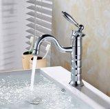 O cromo de Flg terminou a torneira do Faucet da bacia para o banheiro