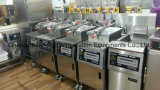 Friteuse électrique de pression d'acier inoxydable de haute performance