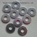 Pente de l'acier du carbone DIN125-1 une rondelle plate avec OIN 9001