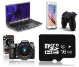 Оптовый микро- тип 6 карточки SD памяти 10 больших частей с первоначально емкостью 128MB 256MB 1GB 2GB 4GB 8GB