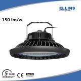 luz industrial 200watts de la bahía del UFO LED de la hora solar 150lm/W alta