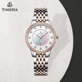 Nova Marca de Relógio de Luxo Bracelete de jóias prateadas Relógio de damas de aço inoxidável 71043