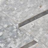 Azulejo nacarado de la pared del mosaico del shell de la nueva chapa del diseño