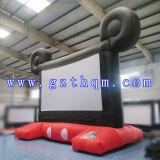 Aufblasbarer hintere Projektions-Bildschirm für im Freienkino/populären aufblasbaren Typen Film-Bildschirm