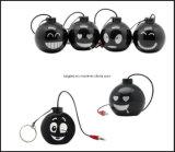 Диктор черни усилителя Poratble формы бомбы миниый