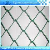 Cerca de ligação em cadeia de aço inoxidável galvanizado hexagonal