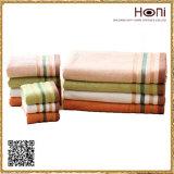 100% полотенца семьи хлопка, полотенца нашивок