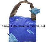 Saco relativo à promoção da compra Foldable, estilo animal dos peixes, sacos reusáveis, de pouco peso, de mantimento e acessível, presentes, acessórios & decoração