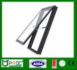 La cadena de aluminio toldo enrollador de ventana con doble vidrio templado