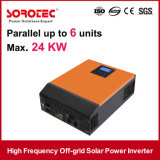 24VDC zu 220VAC weg Rasterfeld-vom reinen Sinus-Wellen-Sonnenenergie-Inverter 5000W