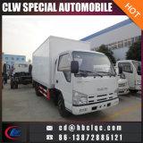 Isuzu 5mt gekühlter Fahrzeug-Abkühlungvan-Kühlraum-LKW