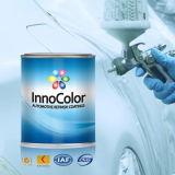 녹색 경쟁적인 차를 경주해서 페인트는 를 위한 다시 마무리한다