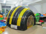 Tenda di campeggio gonfiabile chiusa ermeticamente dell'ape, affitto poco costoso della tenda del prato inglese