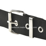 Hot Sale Factory Custom Canvas Classical Round Pin Buckle Hommes Ceinture Web