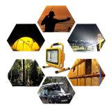 100Wはキャンプランプの屋外の再充電可能なフラッドライト車の充電器を防水する