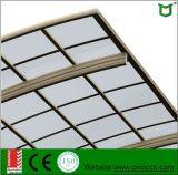 2017 Made in Shanghai Carrinhos de alumínio de dupla janela