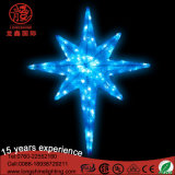 Luz Multi-Color do pendente do Natal da estrela do sinal de néon para o jardim Decoartion do parque