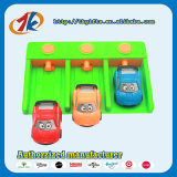 Neues Produkt-Abschussrampen-Miniplastikspielzeug-Autos eingestellt
